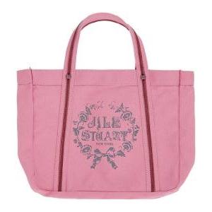 JILL STUART(ジルスチュアート) ラメロゴキャンパストートバッグ(ピンク) - 拡大画像