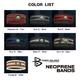 POWER BALANCE NEOPLANE BANDS(パワーバランス ネオプレーンバンド) ブラック×シルバー/L - 縮小画像2
