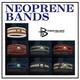 POWER BALANCE NEOPLANE BANDS(パワーバランス ネオプレーンバンド) オレンジ×ホワイト/M - 縮小画像1