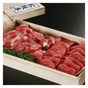 松阪牛焼肉ギフト 600g 5〜6名様用 - 拡大画像