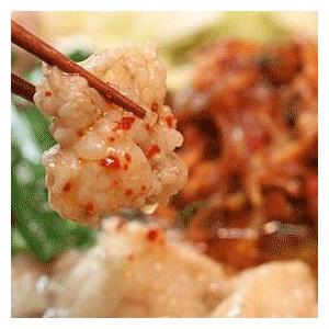 キムチもつ鍋セット 肉の匠が作るもつ鍋 - 拡大画像