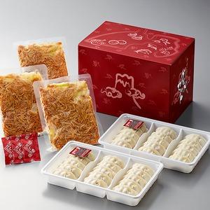静岡B級グルメ対決「富士宮やきそば 200g×3食」Vs「浜松餃子 300g(15粒)×2トレイ」シリーズA - 拡大画像