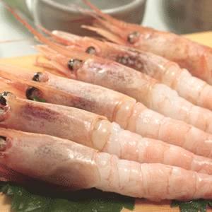 【生食可能】天然甘えび 刺身用1kg(4Lサイズ・40尾前後) - 拡大画像