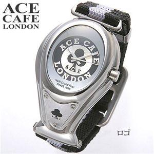 【2008年 70年周年記念】 ACE CAFE LONDON(エースカフェ ロンドン) ゴーグルウォッチ ロゴ - 拡大画像