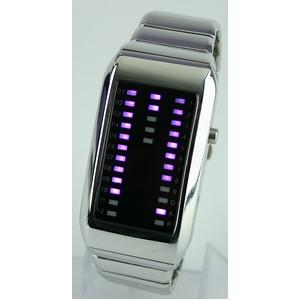 Godier LEDグラフウォッチ Aタイプ パープル - 拡大画像