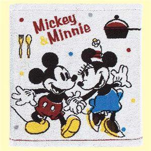 ディズニー ミッキー&ミニー ラブヒント ウォッシュタオル 【3セット】 - 拡大画像