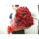 赤バラ100本花束 - 縮小画像3