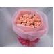 ピンクのバラ花束のミニブーケ - 縮小画像2