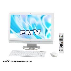 FUJITU(富士通) FMV-DGSKPOWGR F/G70T(スノーホワイト) - 拡大画像