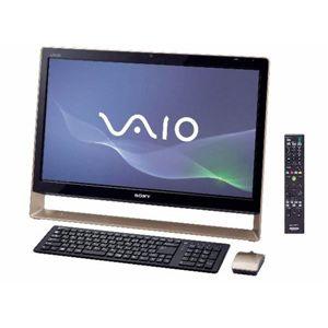 SONY(ソニー) VAIO Lシリーズ L128 Win7HomePremium 64bit Office ブラウン VPCL128FJ/T - 拡大画像