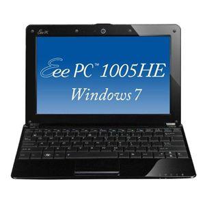 ASUS ノートパソコン Eee PC Seashell 1005HE-WS160 クリスタルブラック - 拡大画像