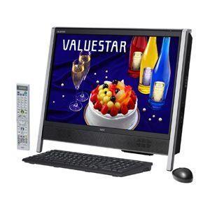 NEC(日本電気) デスクトップパソコン PC-VN770WG6B VALUESTAR N ブラック - 拡大画像