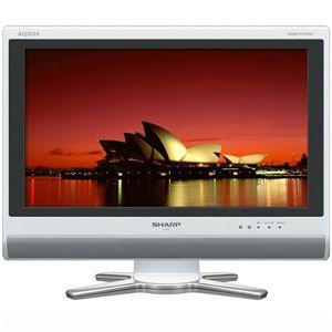 SHARP(シャープ) AQUOS(アクオス) 20V型液晶テレビ ホワイト LC-20D50W - 拡大画像