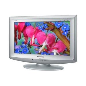 【訳あり】Panasonic(パナソニック)VIERA(ビエラ)17V型地上デジタルハイビジョン液晶テレビ TH-L17C1-S クリアシルバー(箱破損) - 拡大画像