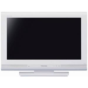TOSHIBA(東芝)REGZA(レグザ)26V型 地上・BS・110度CSデジタルハイビジョン液晶テレビ 26A9000(W) ルーチェホワイト - 拡大画像