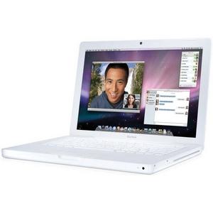 【開梱品】Apple(アップル) ノートパソコン MacBook(マックブック) 2.13GHz 13.3インチ 160GB MC240J/A - 拡大画像