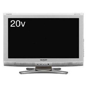 SHARP(シャープ) AQUOS(アクオス) 20V型デジタルハイビジョン液晶テレビ シルバー系 LC-20E6-S - 拡大画像