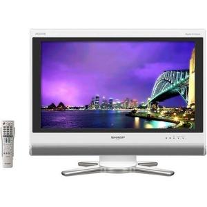 SHARP(シャープ) AQUOS(アクオス) 26V型デジタルハイビジョン液晶テレビ LC-26D50-W ホワイト - 拡大画像