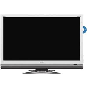 SHARP AQUOS(アクオス) シャープ(シャープ) 52型フルHD対応液晶TV LC-52DX2-W (ホワイト) - 拡大画像