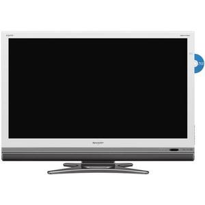 SHARP AQUOS(アクオス) シャープ(シャープ)46V型ブルーレイ内蔵デジタルフルハイビジョン液晶テレビ (ホワイト) LC-46DX2-W - 拡大画像