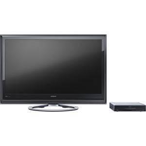 HITACHI Wooo(ウー) 日立(日立)42V型HDD内蔵フルハイビジョン液晶テレビ ブラック UT42-XP800-B - 拡大画像