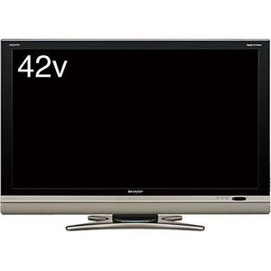 SHARP AQUOS(アクオス) シャープ(シャープ)  42V型デジタルハイビジョン液晶テレビ ブラック LC-42DS6B - 拡大画像