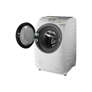 PANASONIC パナソニック(パナソニック) 9.0kg ドラム式洗濯乾燥機【左開き】クリスタルホワイトジェットDancing NA-V1600L-W - 拡大画像
