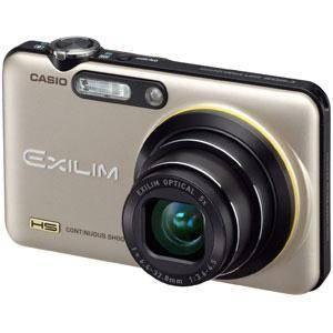 CASIO(カシオ) デジタルカメラ HI-SPEED EXILIM EX-FC150GD ゴールド - 拡大画像
