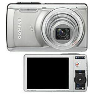 OLYMPUS(オリンパス) デジタルカメラ μ-7040 チタニウムシルバー - 拡大画像