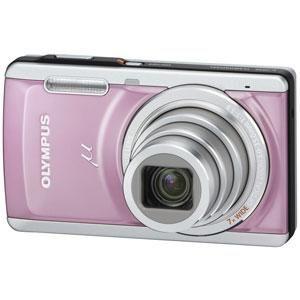 OLYMPUS(オリンパス) デジタルカメラ μ-7040PNK ピンク - 拡大画像