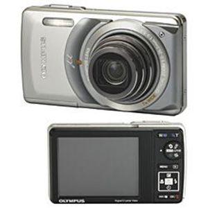 OLYMPUS(オリンパス) デジタルカメラ μ-7010 プレミアムキット シルバー - 拡大画像