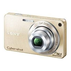 SONY(ソニー) デジタルカメラ Cybershot DSC-W350-N ゴールド - 拡大画像