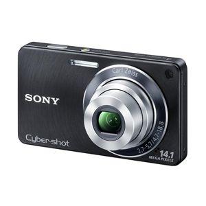 SONY(ソニー) デジタルカメラ Cybershot DSC-W350-B ブラック - 拡大画像