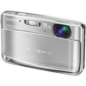 FUJIFILM FX-Z70S FinePix Z70 シルバー (デジタルカメラ) - 拡大画像