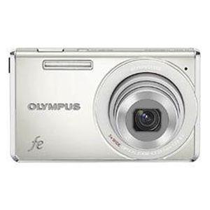 OLYMPUS FE-5030-パールホワイト (デジタルカメラ) - 拡大画像