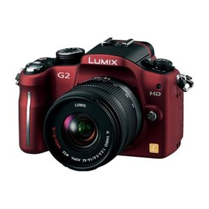 PANASONIC(パナソニック) DMC-G2K-R (デジタル一眼レフカメラ) - 拡大画像