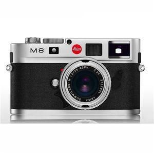 LEICA M8シルバー(ボディー) (デジタル一眼レフカメラ) - 拡大画像
