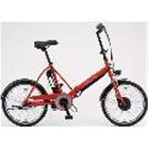 SANYO(サンヨー) 電動自転車 エネループ 20インチ CY-SPJ220-R レッド 【電動アシスト自転車】 - 拡大画像