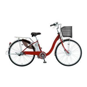 SANYO(サンヨー) 電動自転車 エネループ 26インチ CY-SPA226A-R レッド 【電動アシスト自転車】 - 拡大画像