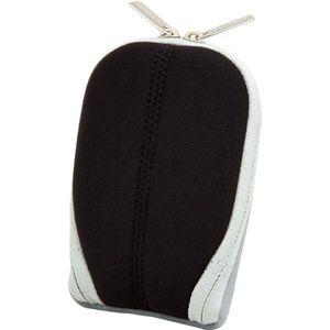 HAKUBA バッグのポケットにも入る薄型カメラポーチ (ブラック) SPG-QR-BK - 拡大画像