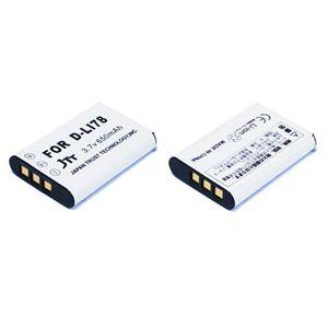 JTT PENTAX用デジタルカメラD-LI78互換バッテリー (Nikon EN-EL11、RICOH DB-80互換) MBH-D-LI78 - 拡大画像