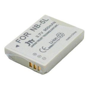 JTT Canon用デジタルカメラNB-5L互換バッテリー MBH-NB-5L - 拡大画像