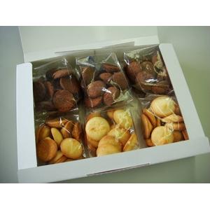 【訳あり】ふぞろい米粉クッキー2種セット 100g×6袋(2種×3袋 - 拡大画像