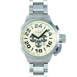 MAX XL WATCHES(マックスエックスエルウォッチ) 5- MAX459 52mm Big Face メタルバンド腕時計 - 拡大画像