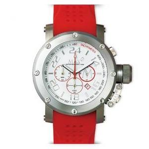 MAX XL WATCHES(マックスエックスエルウォッチ) ラバーベルト腕時計 5-MAX520 47ミリ レッド - 拡大画像