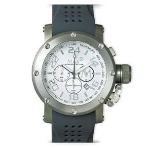 MAX XL WATCHES(マックスエックスエルウォッチ) ラバーベルト腕時計 5-MAX518 47ミリ グレー - 拡大画像