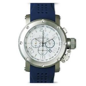 MAX XL WATCHES(マックスエックスエルウォッチ) ラバーベルト腕時計 5-MAX514 47ミリ ネイビー - 拡大画像