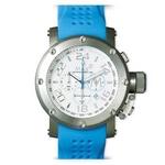 MAX XL WATCHES(マックスエックスエルウォッチ) ラバーベルト腕時計 5-MAX512 47ミリ ブルー
