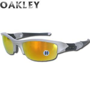 OAKLEY(オークリー) 03-884 FLAK JACKET フラックジャケット SILVER FIRE IRIDIUM - 拡大画像