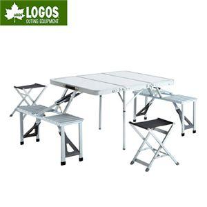 LOGOS(ロゴス) ALC(アルクリーン) 3FDピクニックテーブル6 73160104 - 拡大画像